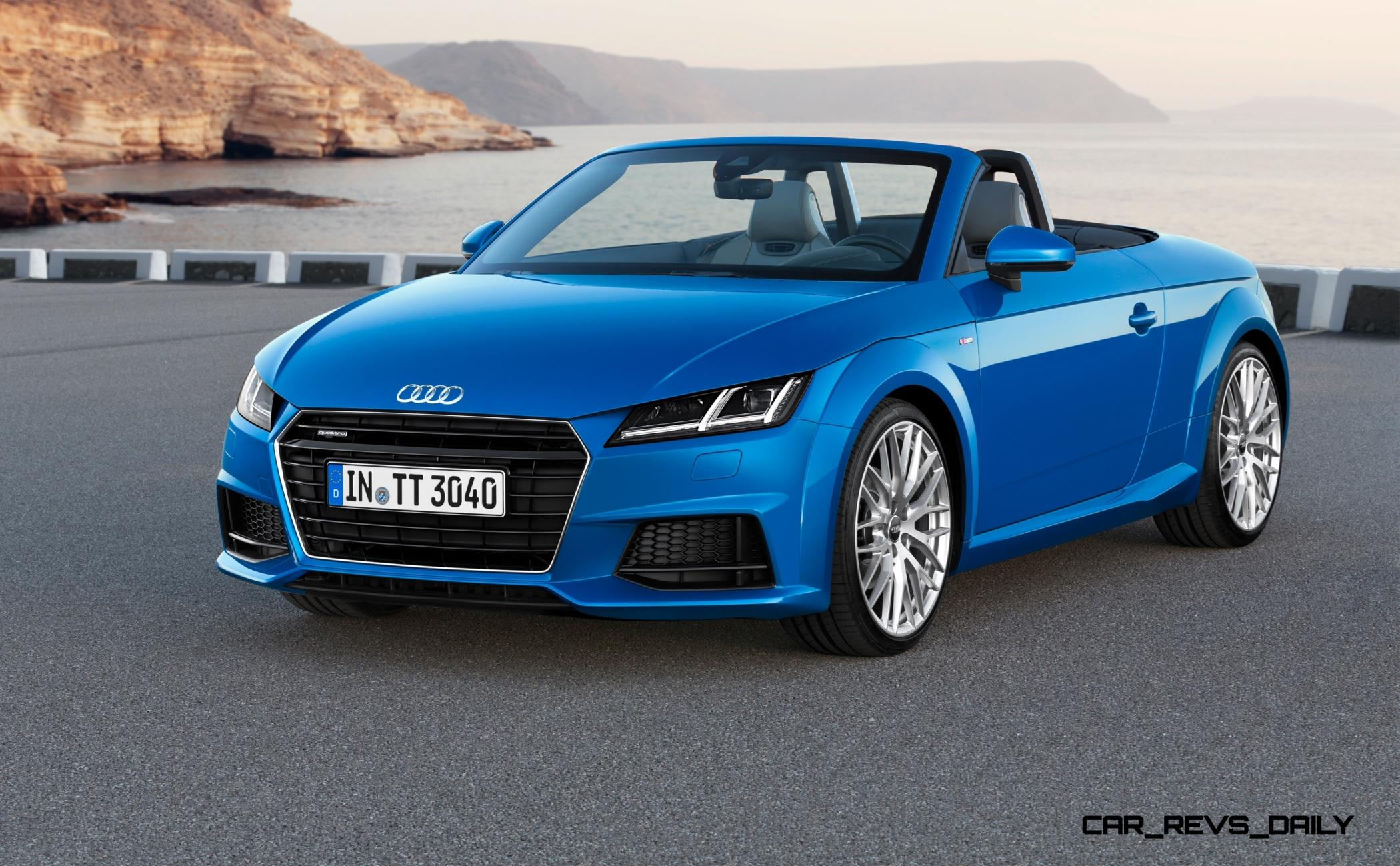 ... 2015 Audi TT And TTS Roadster Revealed Before Paris Show 3 ...