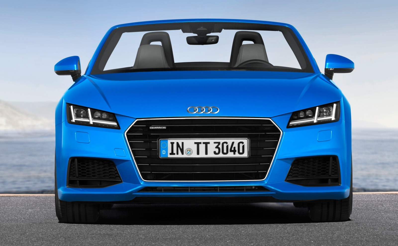 2015 Audi TT and TTS Roadster Revealed Before Paris Show 4