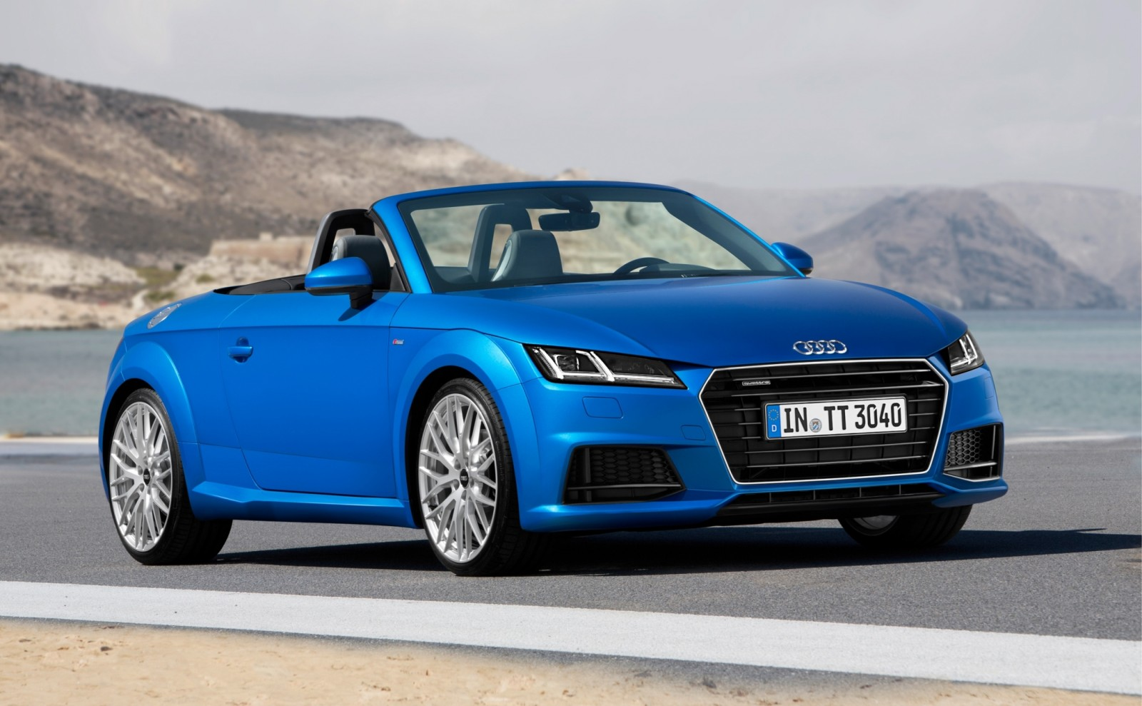 2015 Audi TT and TTS Roadster Revealed Before Paris Show 5