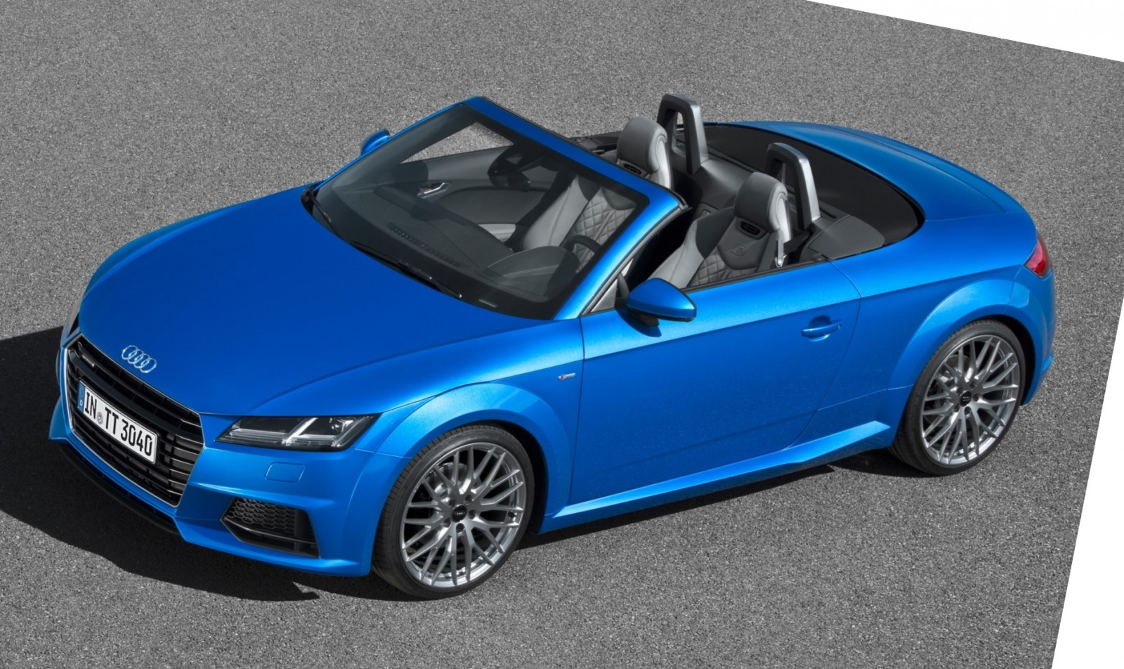 2015 Audi TT and TTS Roadster Revealed Before Paris Show 6