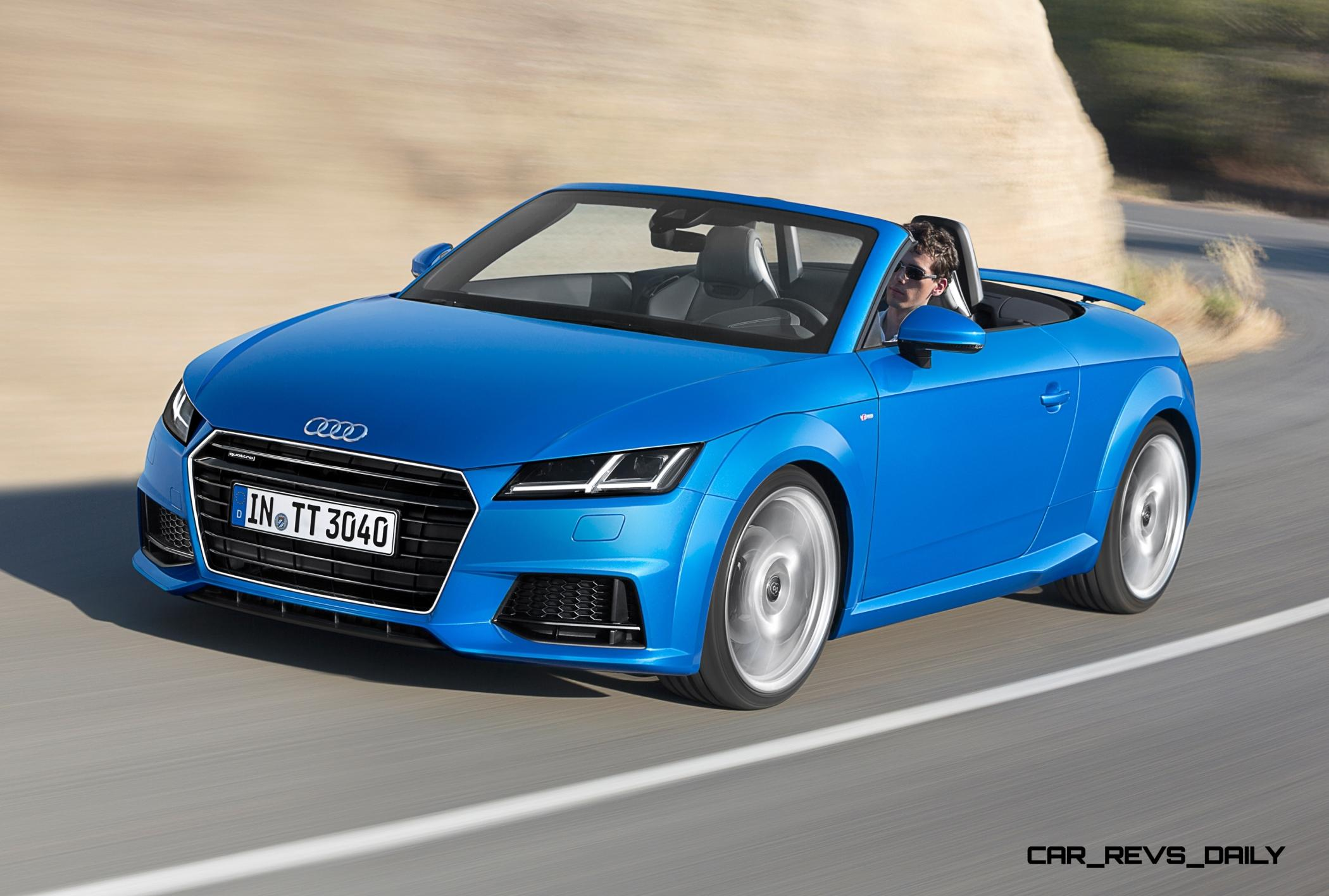 ... 2015 Audi TT And TTS Roadster Revealed Before Paris Show 8 ...