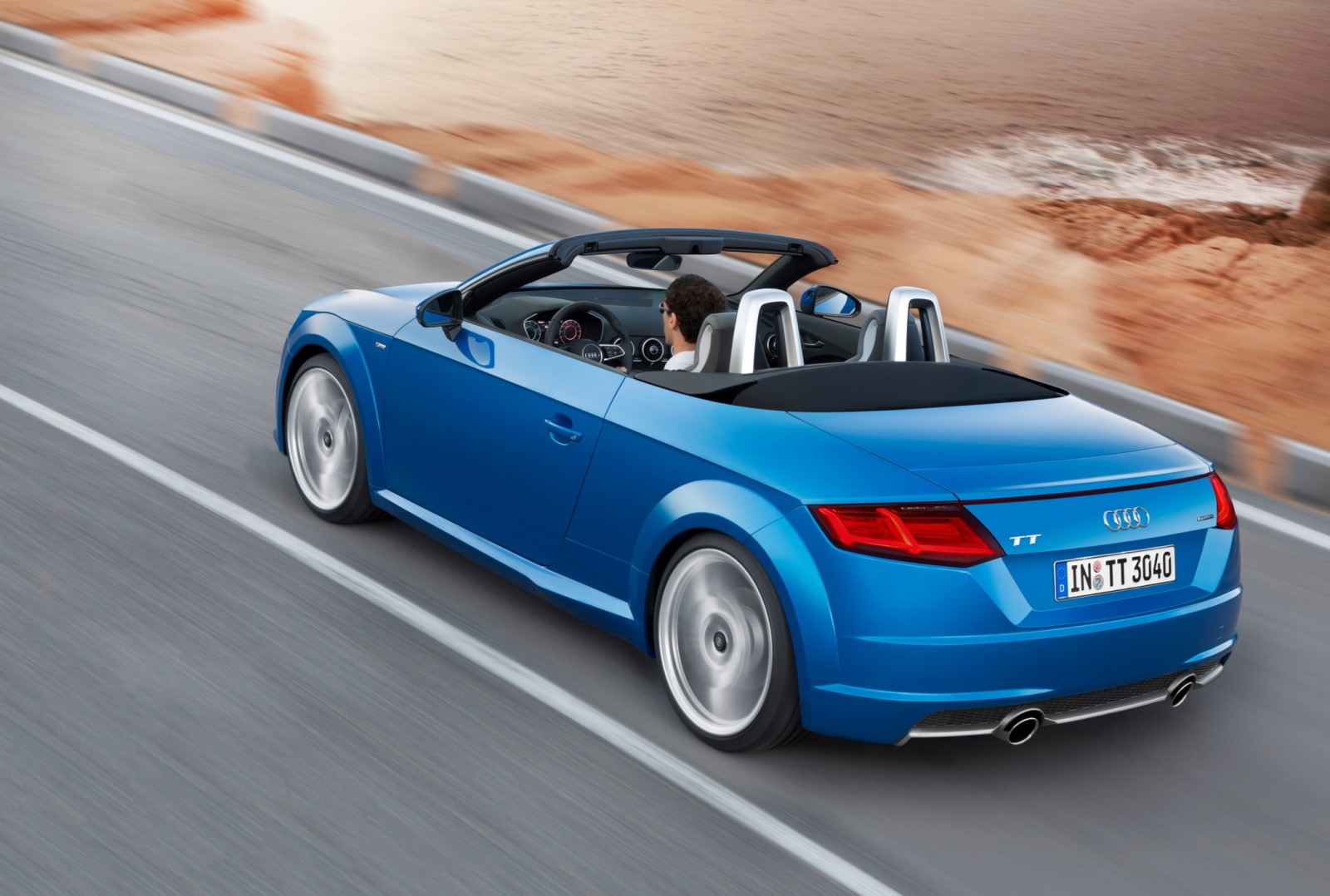 2015 Audi TT and TTS Roadster Revealed Before Paris Show 9