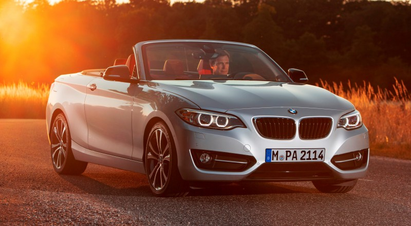2015 BMW 228i and M235i Convertibles Make Tail-Out, Top-Down World Debut 23