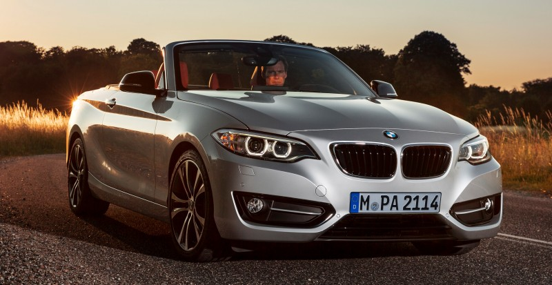 2015 BMW 228i and M235i Convertibles Make Tail-Out, Top-Down World Debut 24