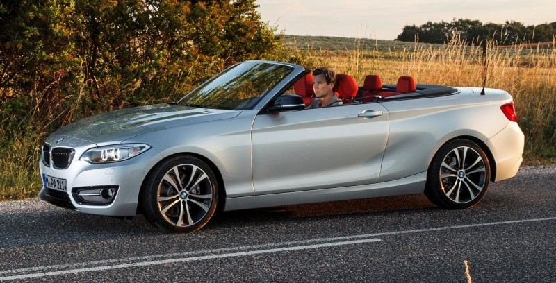 2015 BMW 228i and M235i Convertibles Make Tail-Out, Top-Down World Debut 26