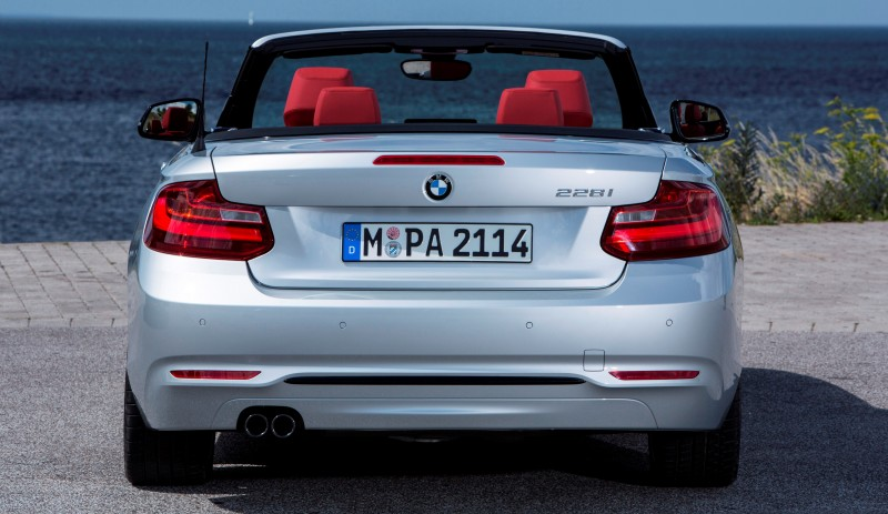 2015 BMW 228i and M235i Convertibles Make Tail-Out, Top-Down World Debut 29