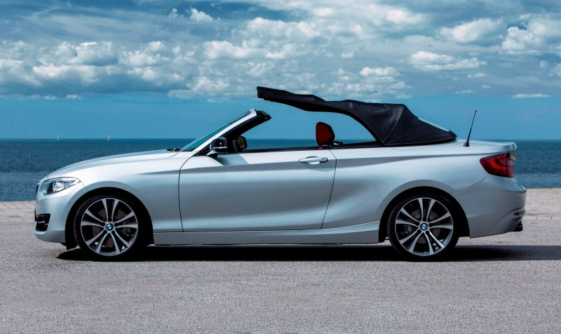 2015 BMW 228i and M235i Convertibles Make Tail-Out, Top-Down World Debut 32