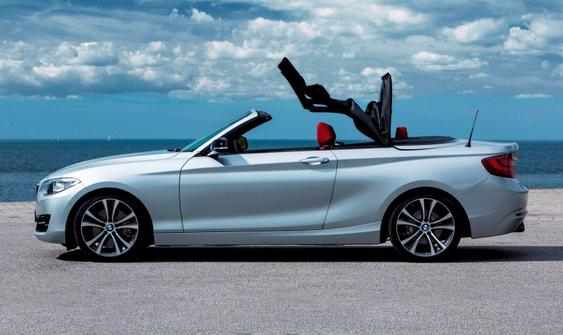 2015 BMW 228i and M235i Convertibles Make Tail-Out, Top-Down World Debut 34