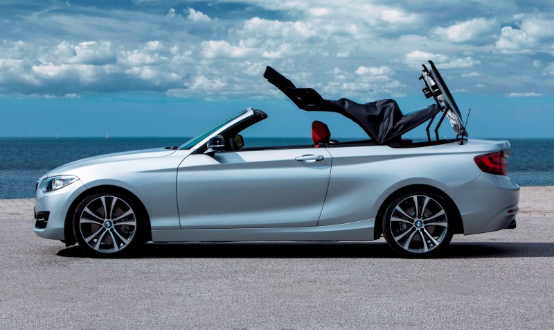 2015 BMW 228i and M235i Convertibles Make Tail-Out, Top-Down World Debut 35