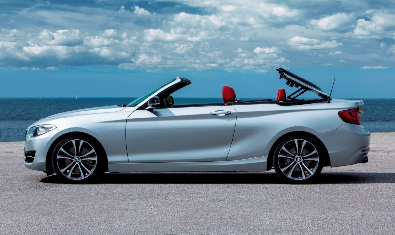 2015 BMW 228i and M235i Convertibles Make Tail-Out, Top-Down World Debut 37