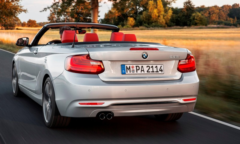 2015 BMW 228i and M235i Convertibles Make Tail-Out, Top-Down World Debut 41
