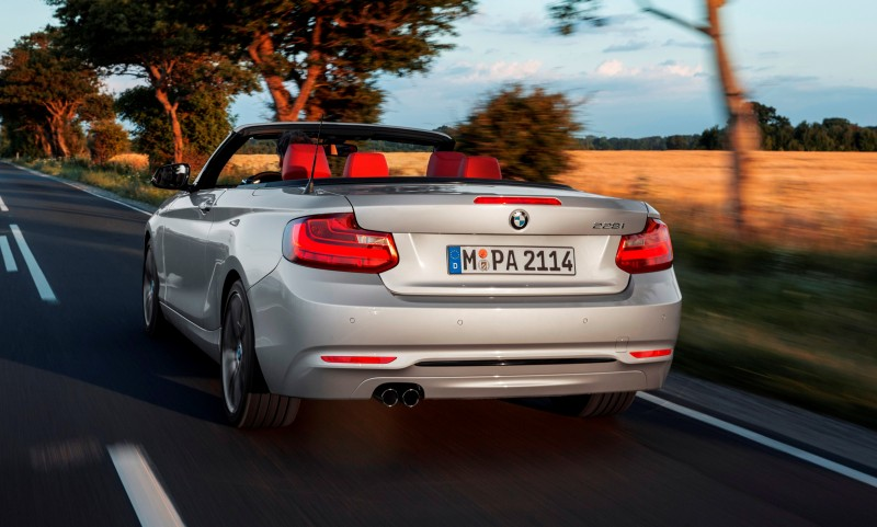 2015 BMW 228i and M235i Convertibles Make Tail-Out, Top-Down World Debut 42