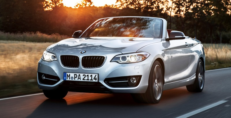 2015 BMW 228i and M235i Convertibles Make Tail-Out, Top-Down World Debut 43