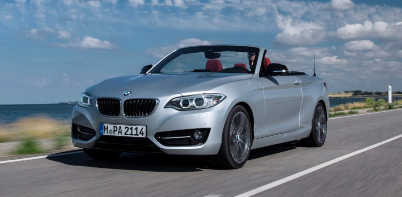 2015 BMW 228i and M235i Convertibles Make Tail-Out, Top-Down World Debut 46
