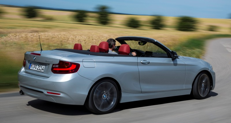 2015 BMW 228i and M235i Convertibles Make Tail-Out, Top-Down World Debut 47