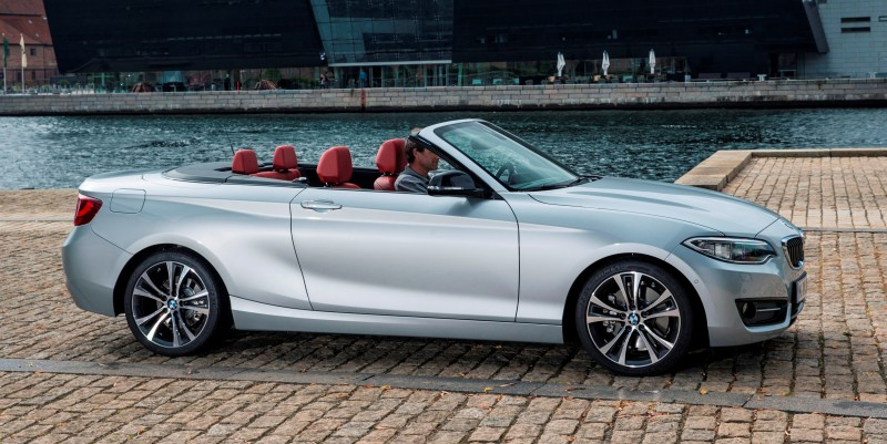 2015 BMW 228i and M235i Convertibles Make Tail-Out, Top-Down World Debut 48