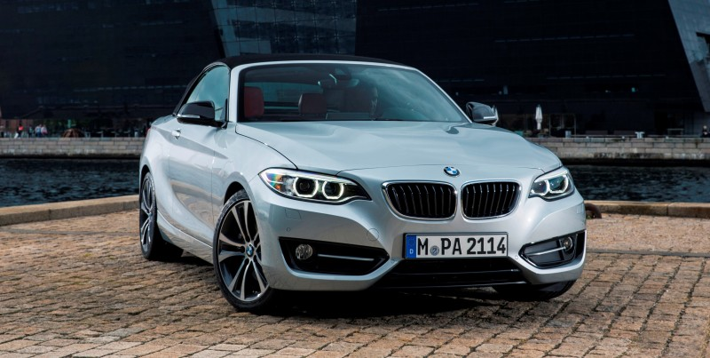 2015 BMW 228i and M235i Convertibles Make Tail-Out, Top-Down World Debut 49