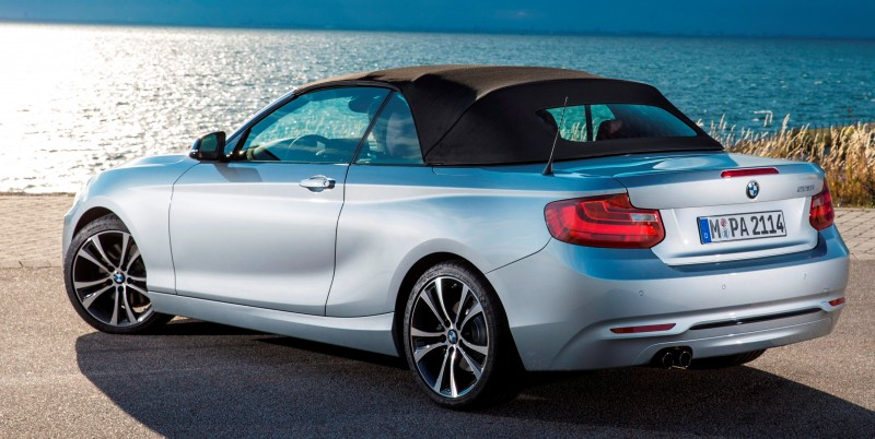 2015 BMW 228i and M235i Convertibles Make Tail-Out, Top-Down World Debut 52