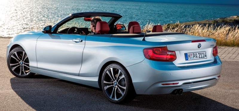 2015 BMW 228i and M235i Convertibles Make Tail-Out, Top-Down World Debut 53