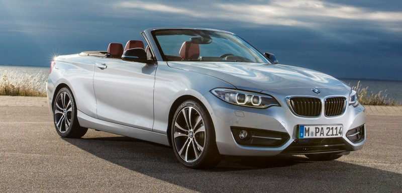 2015 BMW 228i and M235i Convertibles Make Tail-Out, Top-Down World Debut 54