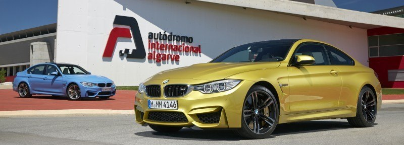 2015 BMW M3 and M4 Meet The Legacy in 52 New Photos With E30 Sport Evolution, E36 M3 Sedan, E46 and E90 1