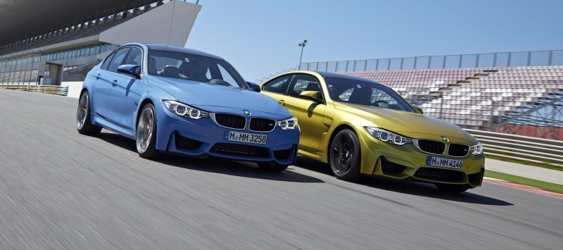 2015 BMW M3 and M4 Meet The Legacy in 52 New Photos With E30 Sport Evolution, E36 M3 Sedan, E46 and E90 11