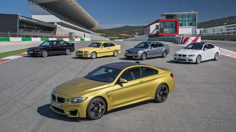 2015 BMW M3 and M4 Meet The Legacy in 52 New Photos With E30 Sport Evolution, E36 M3 Sedan, E46 and E90 15