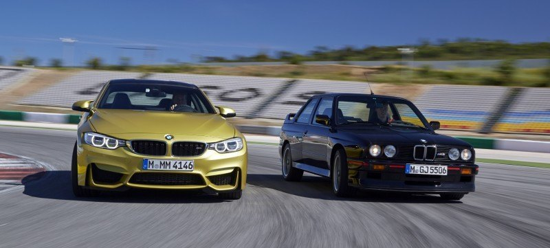 2015 BMW M3 and M4 Meet The Legacy in 52 New Photos With E30 Sport Evolution, E36 M3 Sedan, E46 and E90 19