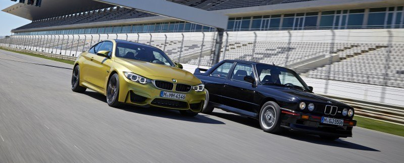 2015 BMW M3 and M4 Meet The Legacy in 52 New Photos With E30 Sport Evolution, E36 M3 Sedan, E46 and E90 22