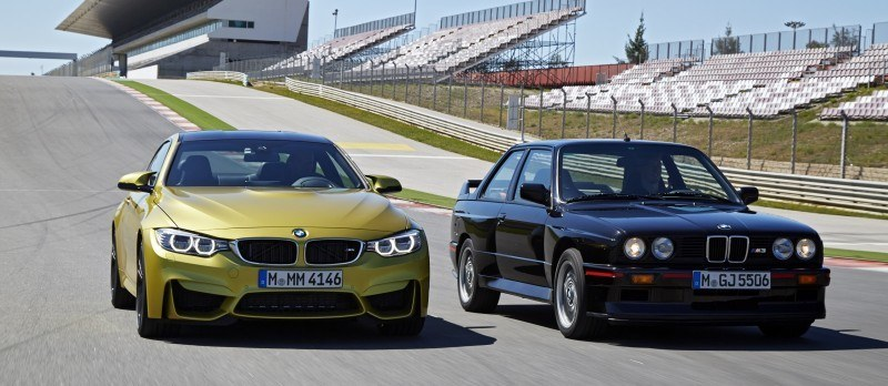 2015 BMW M3 and M4 Meet The Legacy in 52 New Photos With E30 Sport Evolution, E36 M3 Sedan, E46 and E90 23