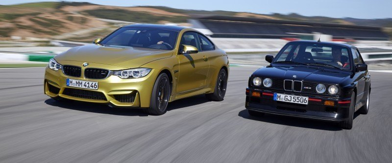 2015 BMW M3 and M4 Meet The Legacy in 52 New Photos With E30 Sport Evolution, E36 M3 Sedan, E46 and E90 25