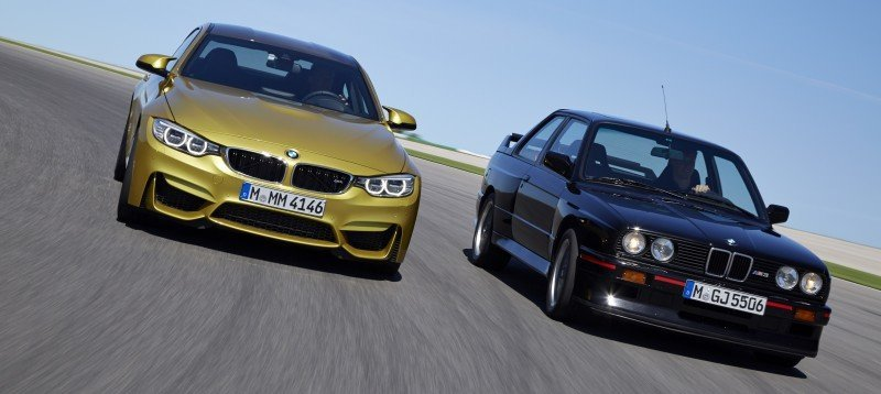 2015 BMW M3 and M4 Meet The Legacy in 52 New Photos With E30 Sport Evolution, E36 M3 Sedan, E46 and E90 26