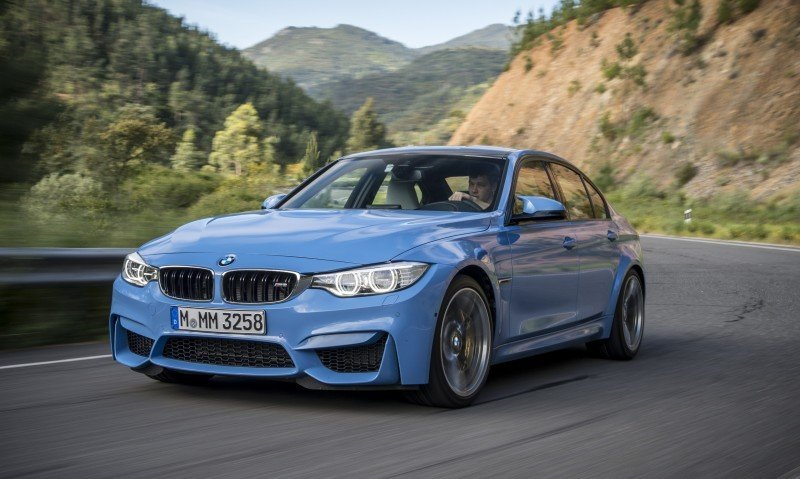 2015 BMW M3 and M4 Meet The Legacy in 52 New Photos With E30 Sport Evolution, E36 M3 Sedan, E46 and E90 27