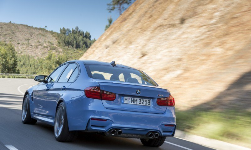2015 BMW M3 and M4 Meet The Legacy in 52 New Photos With E30 Sport Evolution, E36 M3 Sedan, E46 and E90 29