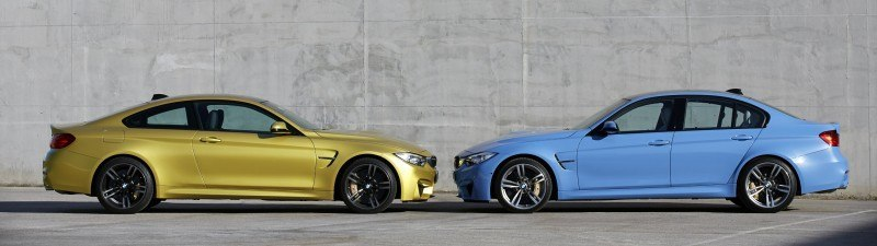 2015 BMW M3 and M4 Meet The Legacy in 52 New Photos With E30 Sport Evolution, E36 M3 Sedan, E46 and E90 3