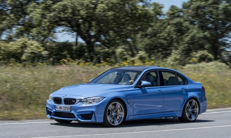 2015 BMW M3 and M4 Meet The Legacy in 52 New Photos With E30 Sport Evolution, E36 M3 Sedan, E46 and E90 32