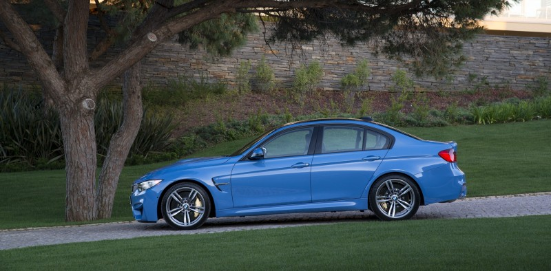 2015 BMW M3 and M4 Meet The Legacy in 52 New Photos With E30 Sport Evolution, E36 M3 Sedan, E46 and E90 38
