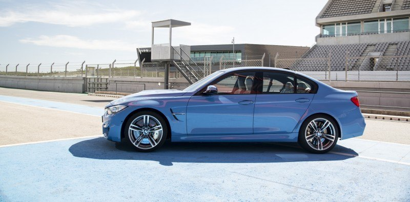 2015 BMW M3 and M4 Meet The Legacy in 52 New Photos With E30 Sport Evolution, E36 M3 Sedan, E46 and E90 40