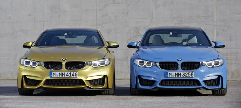 2015 BMW M3 and M4 Meet The Legacy in 52 New Photos With E30 Sport Evolution, E36 M3 Sedan, E46 and E90 5