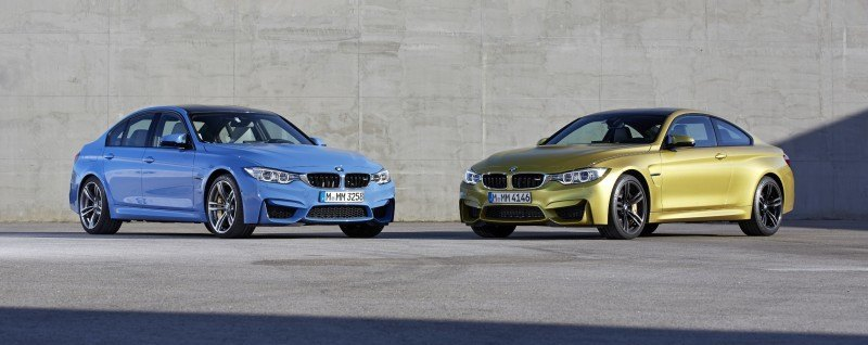 2015 BMW M3 and M4 Meet The Legacy in 52 New Photos With E30 Sport Evolution, E36 M3 Sedan, E46 and E90 7