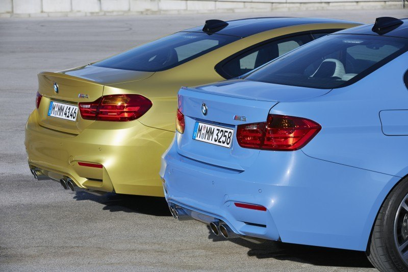2015 BMW M3 and M4 Meet The Legacy in 52 New Photos With E30 Sport Evolution, E36 M3 Sedan, E46 and E90 8