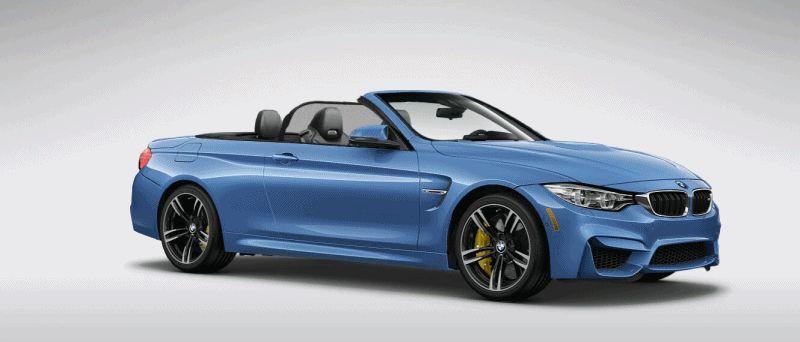 2015 BMW M4 yas marina blue metallic gif