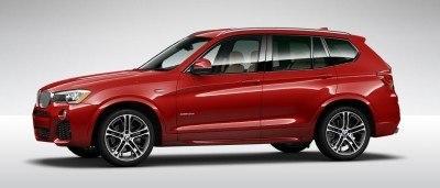 2015 BMW X3 sDrive28i M SPORT Red 10