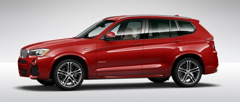 2015 BMW X3 sDrive28i M SPORT Red 10
