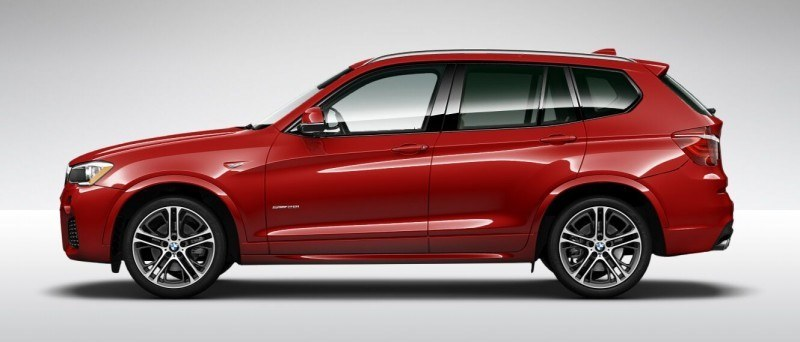 2015 BMW X3 sDrive28i M SPORT Red 12