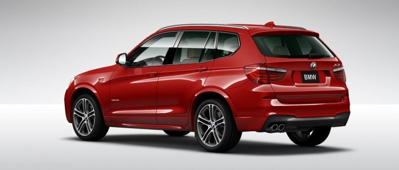 2015 BMW X3 sDrive28i M SPORT Red 17