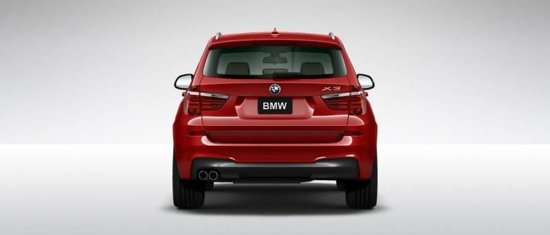 2015 BMW X3 sDrive28i M SPORT Red 21