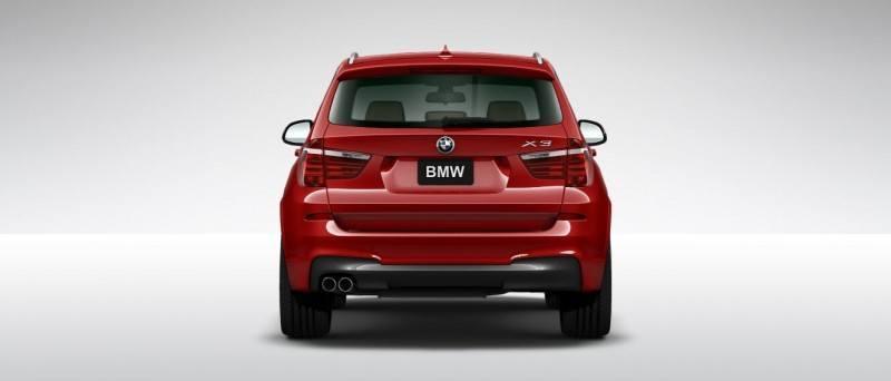2015 BMW X3 sDrive28i M SPORT Red 21