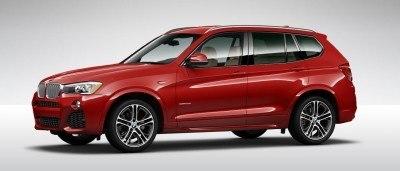 2015 BMW X3 sDrive28i M SPORT Red 9