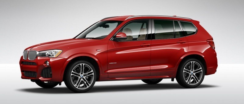 2015 BMW X3 sDrive28i M SPORT Red 9